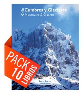 Pack 10 Cumbres y Glaciares de Chile